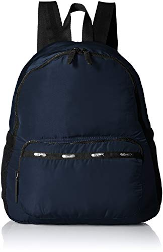 (LeSportsac Travel Large Packable Backpack, classic navy)