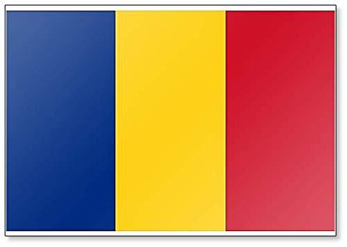 Imán para nevera, diseño de la bandera de Rumanía: Amazon.es: Hogar