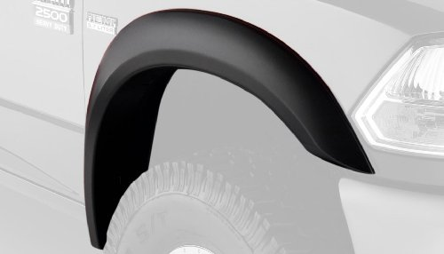 Bushwacker 50045-02 Dodge Extend-A-Fender Flare - Front Pair