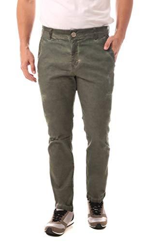 Calça Jeans Denuncia Casual Verde Militar 40