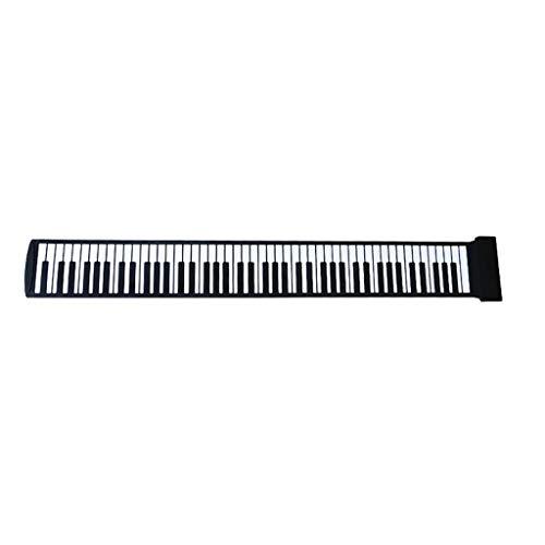 (LIUFS-Piano Hand Roll Piano Thickening Adult Entry Beginner Folding Portable Keyboard 88 Key (Size : 88 Keys))