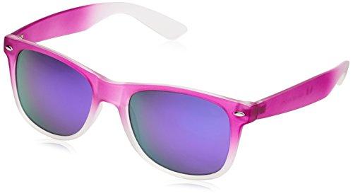 MSTRDS Likoma Fade Mirror, Lunettes de Soleil Mixte Violet - Violett (purple/purple 4547)