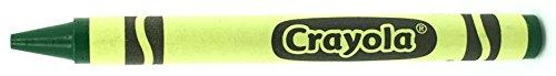 50 Green Crayons Bulk - Single Color Crayon Refill - Regular Size 5/16'' x 3-5/8'' by MinifigFans