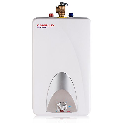Camplux ME40 Mini Tank Electric Water Heater 4-Gallon,120 Volts