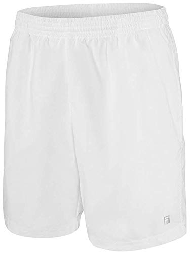 Fila Men's Core 7'' Tennis Shorts, White, M