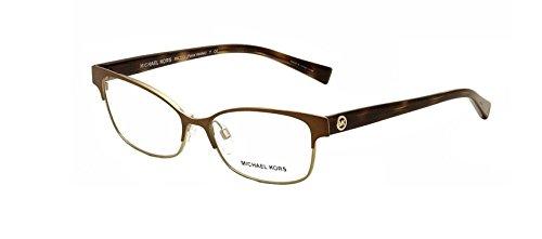 Michael Kors MK 7004 1029 Eyeglasses Satin Brown/Gold