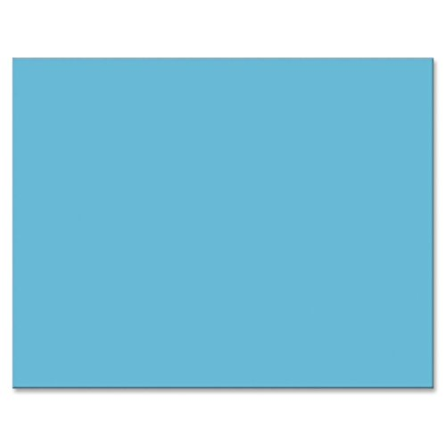 Colored Four Ply Poster Board 28 X 22 Light Blue 25 Carton ()
