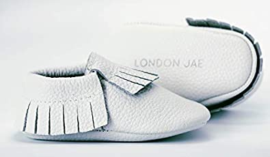 Leather /& Suede Infant /& Toddler Moccasins Soft Sole Oxford /& Loafer Shoes Boots London Jae Apparel Baby Moccasins for Boys /& Girls