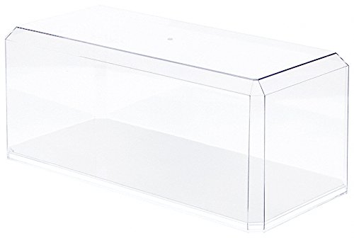 Clear Acrylic Display Case (With Mirror) For Large 1:18 Scale Cars - 15.5