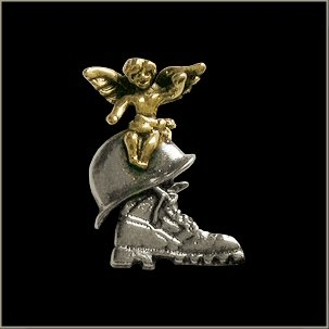 Military Guardian Angel Pin ()