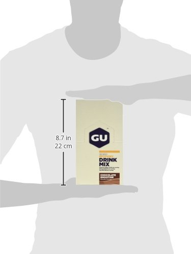 GU Recovery Protein Drink Mix , Chocolate Smoothie, 26.5 Ounce