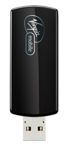 Virgin Mobile Novatel Ovation Broadband2Go Wireless USB Device, Black (MC760)