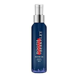 Booth & Berkeley Shaving Gel – Sulphate free, Paraben free & Dye free (Natural ingredient based) – 100 ml