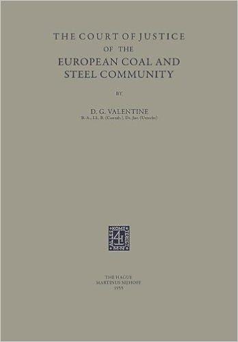 Descargar Torrents Castellano The Court Of Justice Of The European Coal And Steel Community Fariña Epub