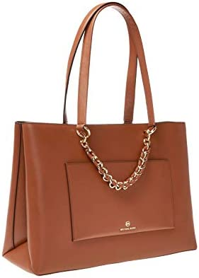 Luxury Fashion | Michael Kors Woman 30S0G0ET2L230 Brown Leather Tote | Spring Summer 20