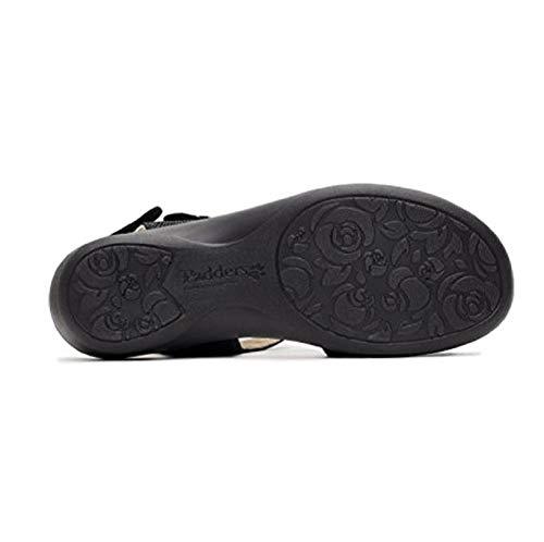 Reptile For Women Black Black Sandals Padders qX7HH