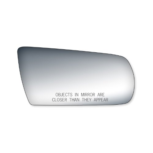 Fit System 90056 Chevrolet/Oldsmobile/Pontiac Passenger Side Replacement Mirror Glass (Glass Mirror Pontiac Sunbird)