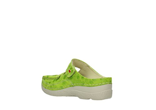 Sneaker Wolky Lime Donna 12750 Nubuckleather pdUdgr