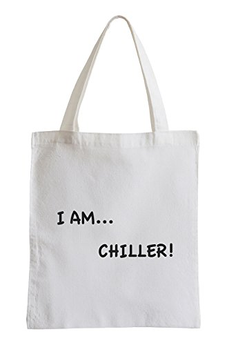I am Chiller… Chill Peace Jutebeutel