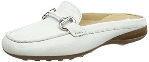 Blanco Para mujer C1000 white Mocasines Mujer Euxo Geox qUOnfwFq