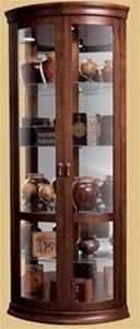 - Howard Miller Chancellor 680-503 Corner Curio Cabinet