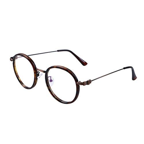 Bi Tao Tortoiseshell Vintage Round Reading Glasses 4.25 Men Women Fashion Readers Eyeglasses 23 Strengths Available in 3 - Glasses Tortoiseshell Round
