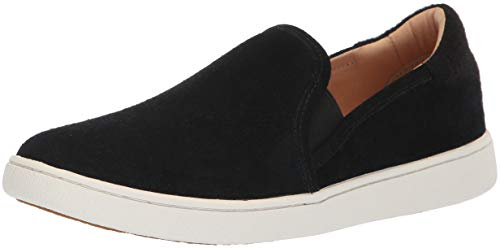 UGG Women's W CAS Sneaker, Black, 7.5 M US