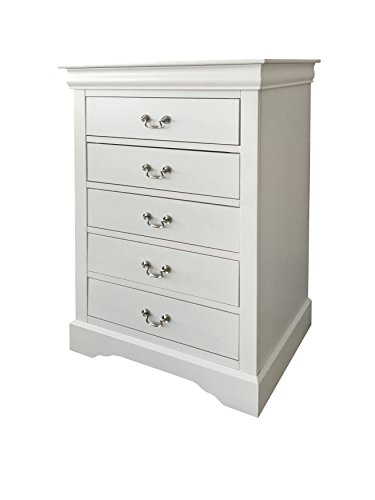 Acme Furniture Louis Philippe III 24506 Chest, White -