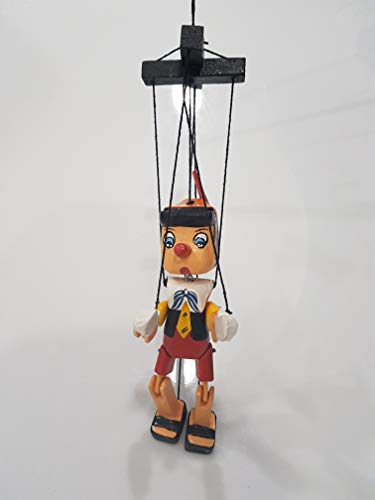 Bongjas Dream Handmade Wooden Pinocchio Marionette Puppet Home Decor Ornament