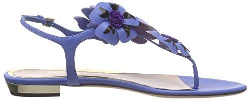 Sebastian S7056 DENIM+ORCH - Sandalias de vestir de Otra Piel para mujer Azul Blau (DENIM+ORCH) 36