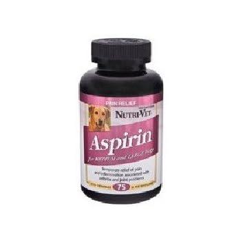 Nutri-Vet, Llc K-9 Aspirin 300Mg Lg Dog Buffered Aspirin