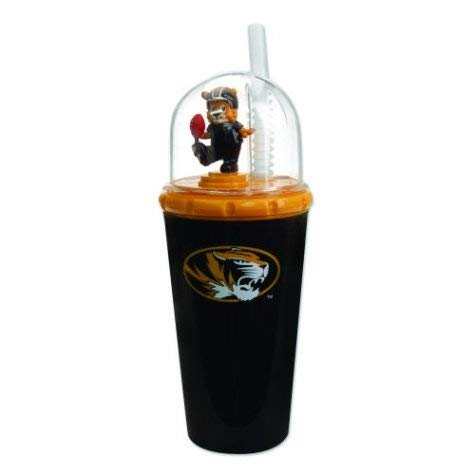 (BB Sports Mizzou Tigers Mascot Sippy Cup with Straw)