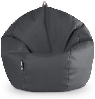 HAPPERS Puff Pelota 60cm diámetro (Gris): Amazon.es: Hogar
