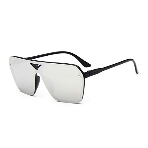 G&T New Mens Fashion Personality Uv Protection Colorful Rectangular - Uv400 What Does Mean