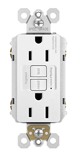 Legrand-Pass & Seymour 1597WCCD12 GFCI Outlet, 15 Amp, White ()