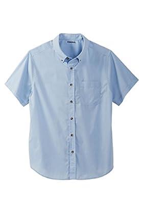 KingSize Men's Big & Tall shrink-Less Short Sleeve Sport Shirt