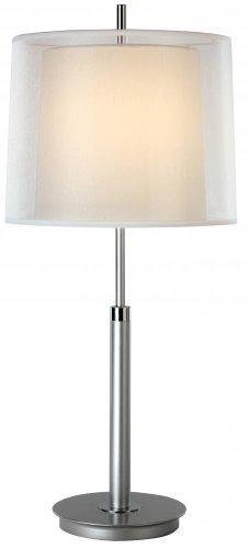 (Trend Lighting Nimbus Table Lamp, Metallic Silver/Chrome)