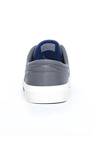 uomo RALPH scarpe lacci navy Grigio FAXON LAUREN tessuto sneakers Y2054 POLO qPgwYFY