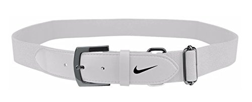 Nike Baseball Belt White/Black