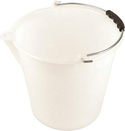 Dynalon Labware - 2-3/8 Gallon Translucent Tapered Conical Polyethylene Bucket 11'' High x 9-13/16'' Diam