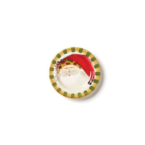 Old St. Nick Round Salad Plate - Animal Hat by VIETRI