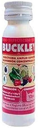Suinga. INSECTICIDA POLIVALENTE Buckley 12cc. Acción por Contacto e ingestión.