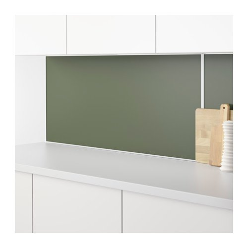 Ikea lysekil Wandpaneel doble cara; en color blanco/grüngrau ...
