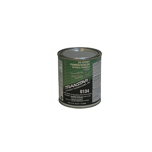 TRANSTAR 6134 Gray 2K Epoxy Primer/Sealer - 1 Quart by TRANSTAR (Image #1)