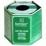 KESTER SOLDER 24-7068-1400 48 Rosin Activated Core 96.5% Tin 3% Silver 0.5% Copper Solder Wire-Gauge 16 - 1 item(s)