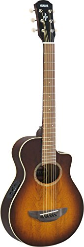 Yamaha APXT2EW 3/4-Size Acoustic-Electric Guitar with Gig Bag, Tobacco Sunburst