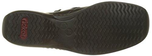 Les Bottes Femmes Noire Bottes Les Noir Rieker L3890 Des combinaison qSd6SA