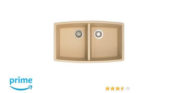 Blanco 441226 Performa Equal Double Bowl Silgranit II Sink ...