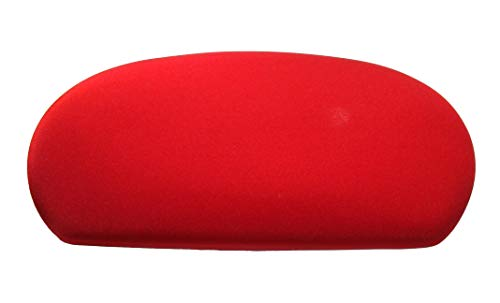 Spandex Fabric Cover for a lid Toilet Tank - Handmade in USA (Red)
