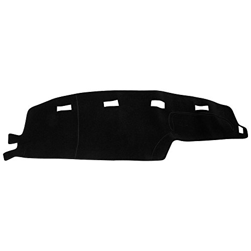 Hex Autoparts Dash Cover Mat Dashboard Pad for 94-97 Dodge Ram 1500 2500 3500 Truck (Black)